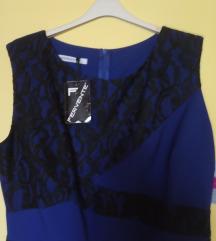 Nova plava haljina sa cipkom