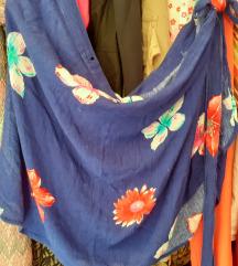 Suknja na preklop za plazu