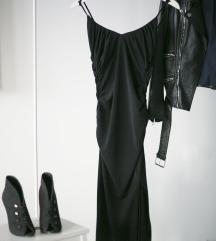 Dostupna! Crna HM slip haljina, vel. XS