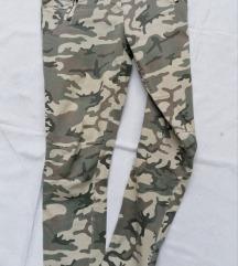 VANILLA ženske military letnje pantalone