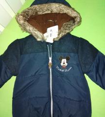 Dečija jakna Mickey Mouse 92 NOVA