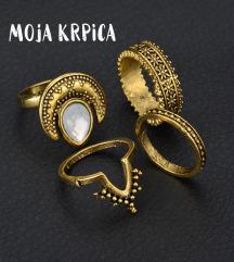 Golden Moon set prstenja