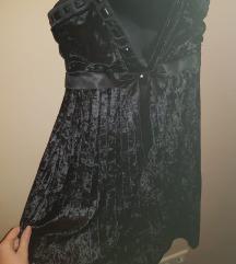 Svečana plišana haljina