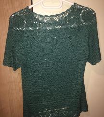 Bluza i suknja pletena kompelt