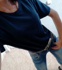 Majica teget, h&m