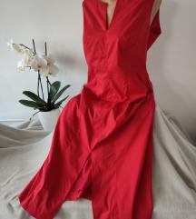BETTY BARCLAY crvena kvalitetna haljina vel XL