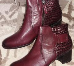 Nove kožne bordo TAMARIS cizme