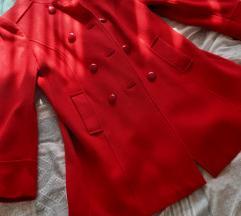 Običan crveni kaput SNIŽENOO 2200 DIN