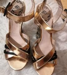 Fornarina zlatne sandale