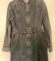 Zara haljina/mantil u stilu 80tih