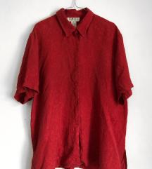 Crvena Svilena Košulja [VINTAGE]