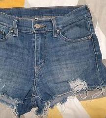 Levis kratke hlače - visoki struk