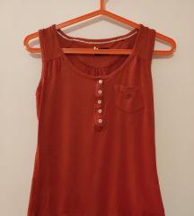 Sinequanone crvena majica bez rukava