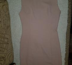 Roze mini haljina
