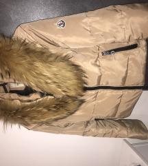 Moncler jakna bogato prirodno krzno