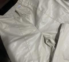 De Facto kozne pantalone krem
