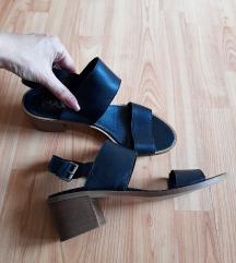 MAX kozne sandale blok stikla
