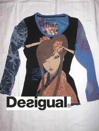 Desigual pamucna bluza vel M
