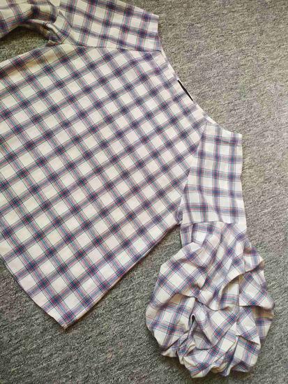 Bluza sa puf rukavima