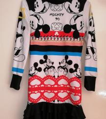 Miki maus haljinica, predivna+poklon DANAS 1000