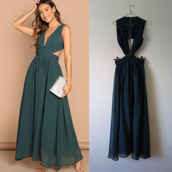 Rezz SHEIN maxi haljina