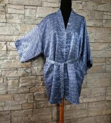 kimono plavo beli