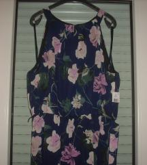 SLNY nova haljina od šifona sa kaišem UK16EU44