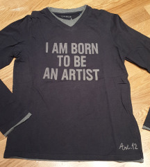 OKAIDI dux majica crna za decake i momke  14 god