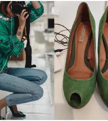 ZARA antilop zelene cipele