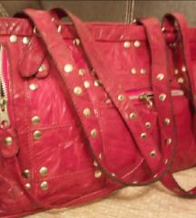 Kozna torba,Paar, original, crvena, nova