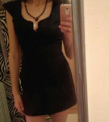 Zara crna haljinica S