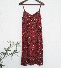 Animal print haljina do kolena - SNIŽENO 350