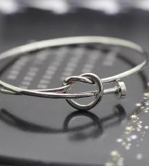 Narukvica čvor srebro 925