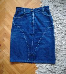 Retro suknja-visoki struk S/M