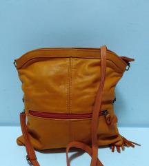 Italy Borse in Pelle kožna torba 100% koža 27x26cm