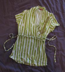 536. Majica od viskoze, zeleno bela, pruge