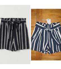 *H&M* paper bag shorts NOVO