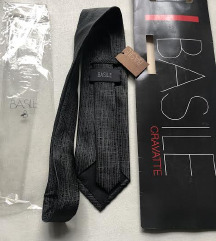 Basile italijanska plava kravata, svila, novo