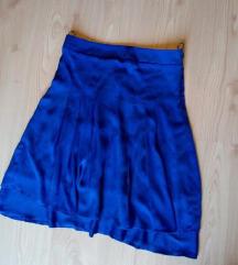 Kraljevsko plava suknja