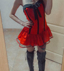 Lolita dress ~ Crvena goth haljinica🎀❤️