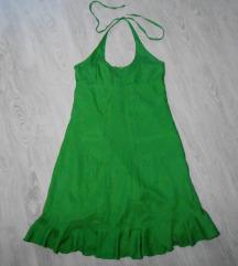 Prelepa letnja svilena ONE STEP haljina S/M
