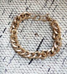 H&M zlatna ogrlica - lanac
