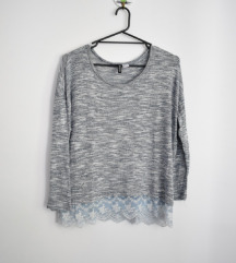H&M majica na duge rukave NOVO