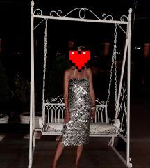 Asos Design, srebrna haljina