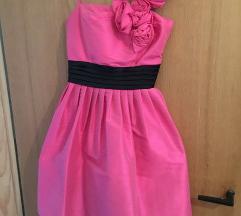 Svecana roze puf haljinica