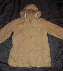 Duza krem jakna za prelaz vel. XL - kao nova