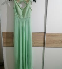 Svecana (mint) haljina ➡️ SNIŽENO + poklon