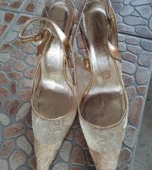 Zlatne italijanske sandale, SNIZENE!