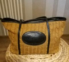 Zimska pletena velika torba