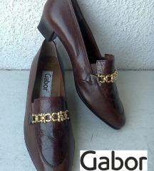 cipele braon kožne nove br 38 GABOR